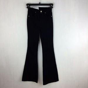 BDG Morrison High Rise Flare Jeans Solid Black